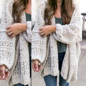 Free People Saturday Morning Cardigan XS/S ivory